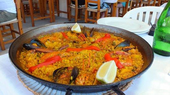 Restaurant El Carmen: Paella Mixta