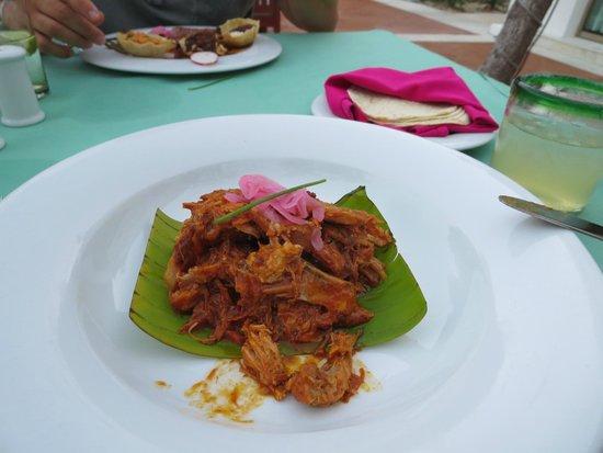 Valentin Imperial Riviera Maya: Mexican restaurant Pibil