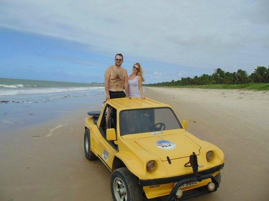 Praia do Carro Quebrado: Carro Quebrado