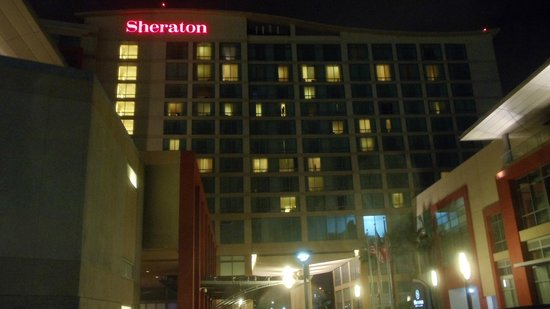 Sheraton Puerto Rico Hotel & Casino: Outside at night