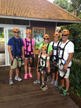 Maui Zipline Company: Family fun!