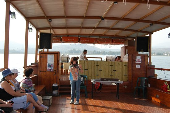 Sea of Galilee : на катере