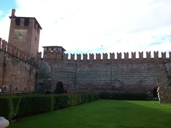 Museo di Castelvecchio: interno del castello