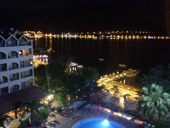 Golmar Beach Hotel: View from our room!