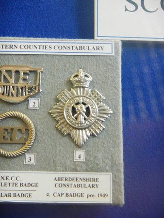 Glasgow Police Museum: Aberdeen City Police Badge