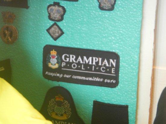Glasgow Police Museum: Grampian Police Badge