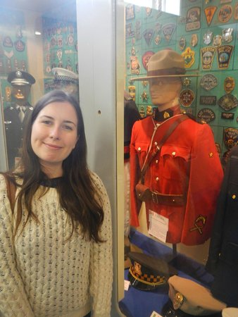 Glasgow Police Museum: Canadians...