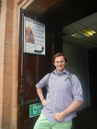 Glasgow Police Museum: Door of the museum on bell street, blink and you'll miss the sign!