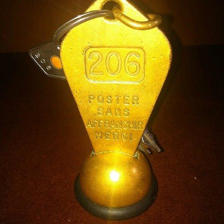 Hotel Majestic : Wonderfully nostalgic room keys