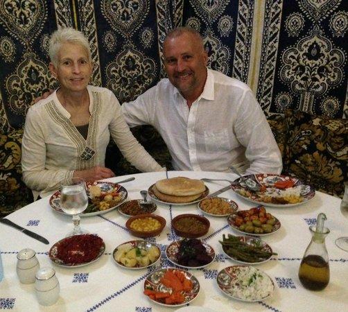 Restaurant dar hatim : Dinner at Dar Hatim Fes Medina