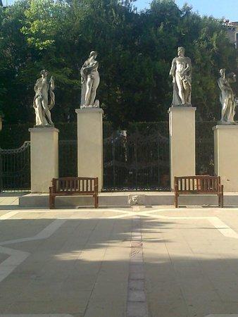 Ca' Rezzonico: Garten der Ca´Rezzonico...