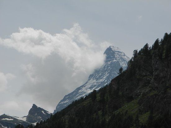 The Matterhorn: Matterhorn from Zermatt.