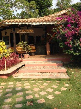 Hotel Posada La Bokaina: recepcion