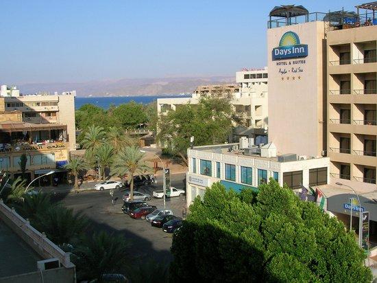 Al Qidra Hotel : Panorama dal terrazzino