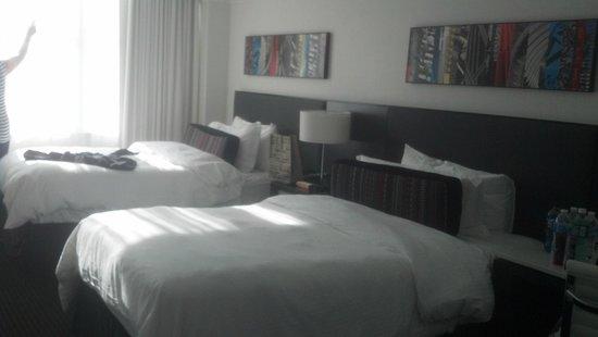 Loews Philadelphia Hotel : Double room 2601