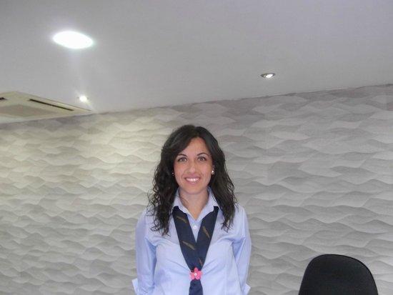 Hotel Best Siroco: great receptionist