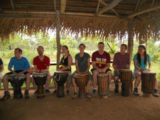 Maroon Creole Drum School: Starting the Drum Lesson