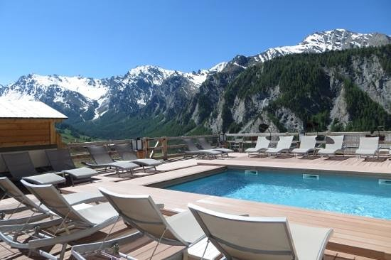 L'Alta Peyra Hôtel et Spa : piscine exterieure