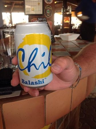 Casa Del Mar Beach Resort: best beer on the island!