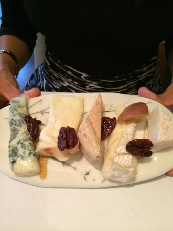 The Ledbury: Cheese selections