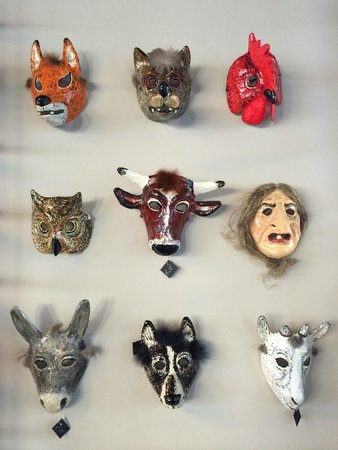 Look at Riga: masks.