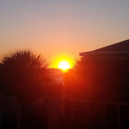 Sunset from our Englewood Beach condo