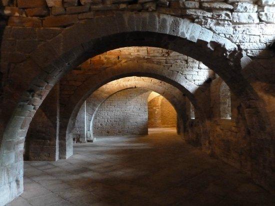 San Juan de la Peña: Interior del Monasterio