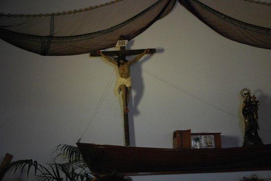 Islas Graciosa : Jedyny kościółek na Graciosie