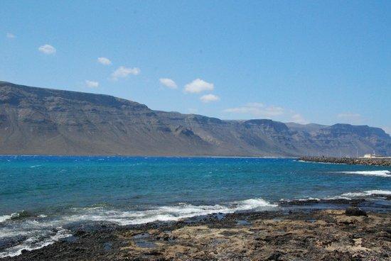 Islas Graciosa : Tak blisko stąd na Lanzarote...
