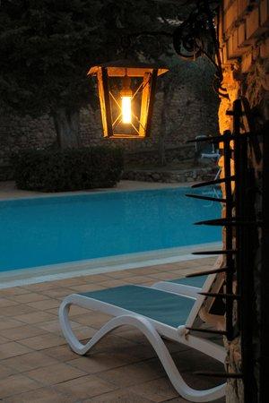 Hotel Pescille: Particolare zona piscina