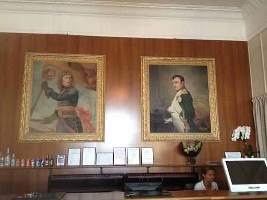 Langley Resort Napoleon Bonaparte : reception