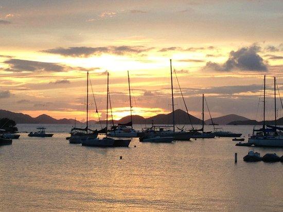 Sunset view from Joe's Rum Hut