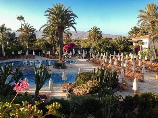 Seaside Grand Hotel Residencia: La vue depuis la terrasse restaurant