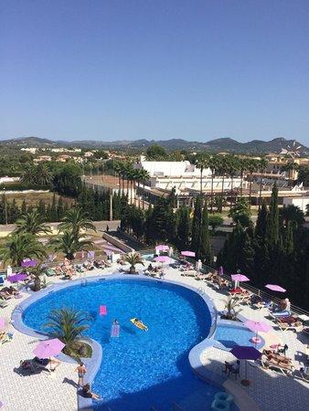 Playa Blanca Hotel: Pool view
