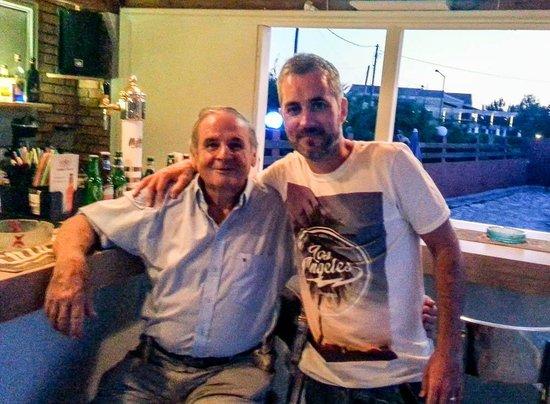 Tassos Apartments: The man himself Tassos 'Very Nice'