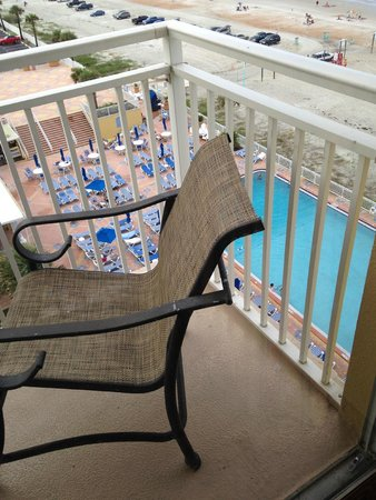Plaza Resort & Spa : Balcony 2
