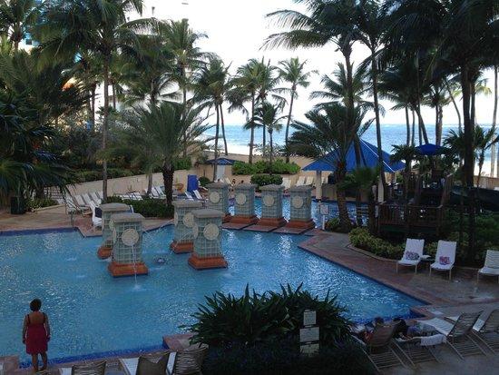 San Juan Marriott Resort & Stellaris Casino: Quiet in the early morning