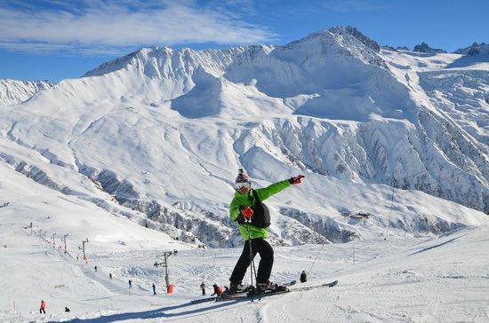 Dormio Resort Les Portes du Mont Blanc : Наша горка