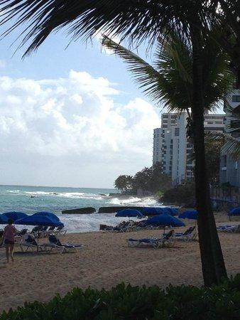San Juan Marriott Resort & Stellaris Casino: The coastline