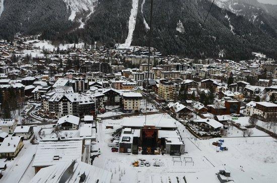 Dormio Resort Les Portes du Mont Blanc: Подъем на пик 3800