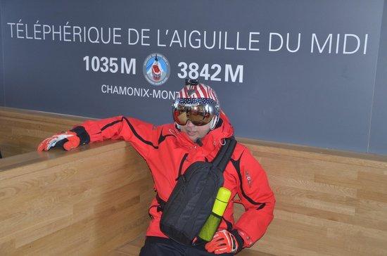 Dormio Resort Les Portes du Mont Blanc: Пик Айгуль де Миди