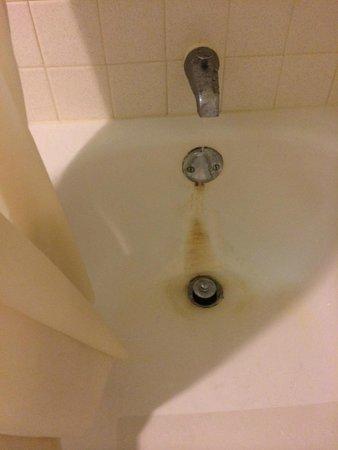Days Inn Bath Hammondsport: Rusted Tub