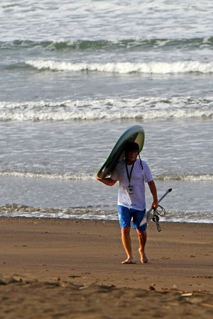 Playa Venao Hotel Resort: Short walk to the water