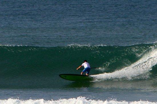 Playa Venao Hotel Resort: Good surfing