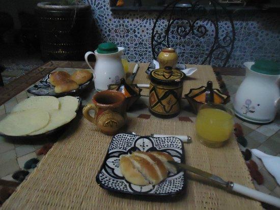 Riad Mahjouba : Desayuno
