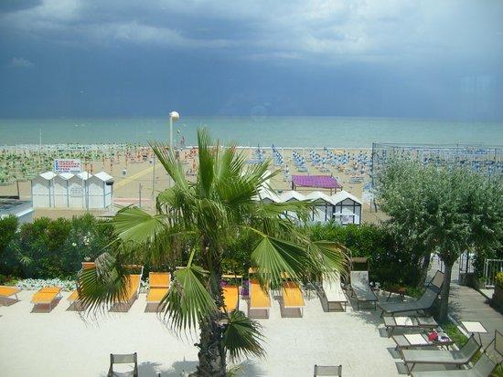 Hotel Fedora: vista dal ristorante