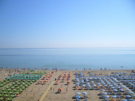 Hotel Fedora: vista mare