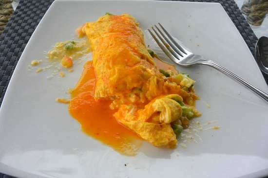 Playa Venao Hotel Resort: Morning omelette