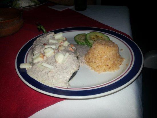 La Mexicana: Delicious dinner!