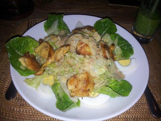 Svarga Resort Lombok: Chicken Ceaser